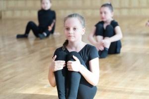 photo stage contemporain enfants école de danse l'alternative