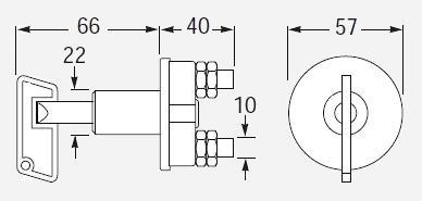 Interruttori staccabatteria ad azionamento manuale HELLA