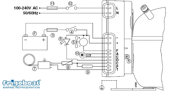 Danfoss Compressor 12v Wiring Diagram : 37 Wiring Diagram