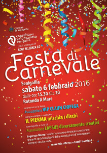 Alla Rotonda il Carnevale della Consulta del Volontariato