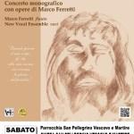 Il New Vocal Ensemble in concerto a Trecastelli