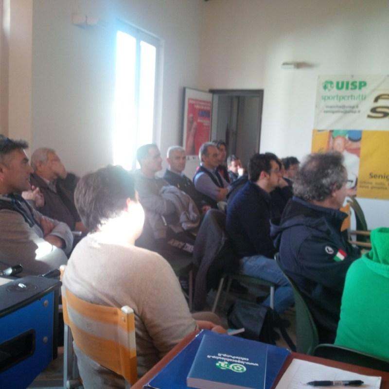 Prosegue a Senigallia il corso per arbitri di calcio della Uisp