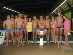Ottime prove dell'Adriakos ai campionati regionali nuoto master