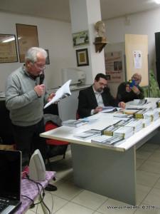 Vincenzo Prediletto ha presentato a Marzocca l'antologia di Lorenzo Spurio
