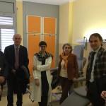 Jesi, il sindaco Bacci in visita all'ospedale Carlo Urbani