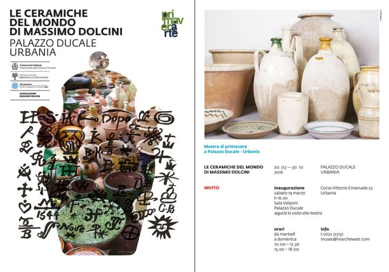A Urbania le ceramiche del mondo di Massimo Dolcini