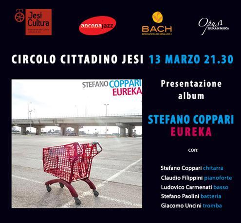 Stefano Coppari Quartet presenta il suo ultimo disco Eureka
