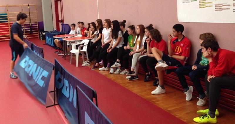 Tirocinio formativo al Centro Olimpico Tennistavolo con il Panzini