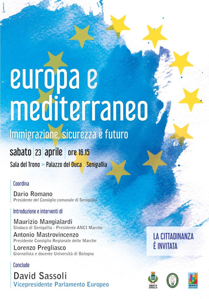A Senigallia il convegno su Europa e Mediterraneo