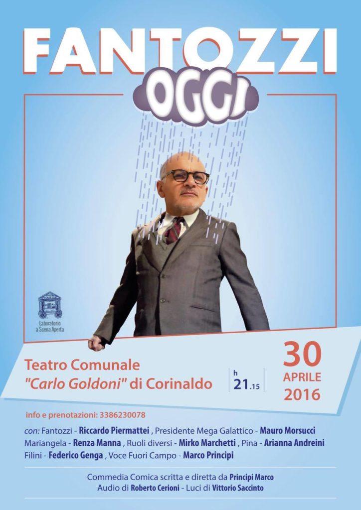 Al Goldoni di Corinaldo arriva Fantozzi oggi