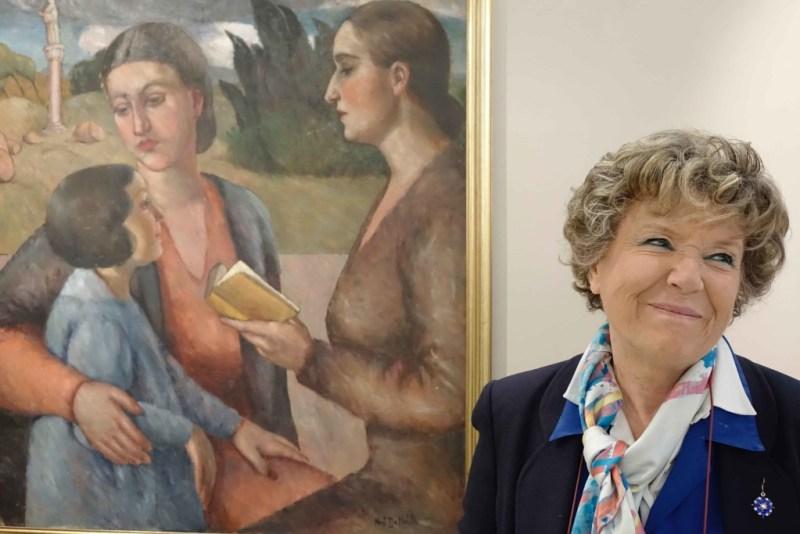 Piacciono a Dacia Maraini le opere di Nori De' Nobili