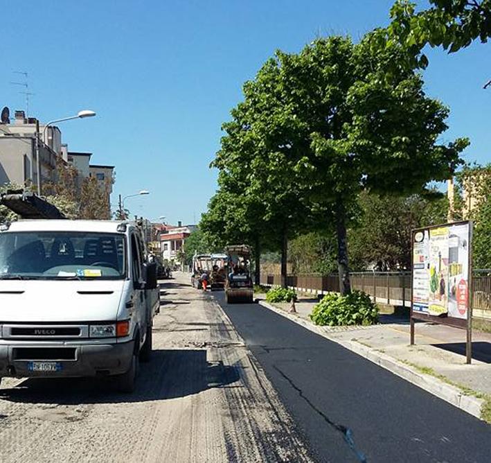 Continuano a Senigallia gli interventi nel quartiere Saline