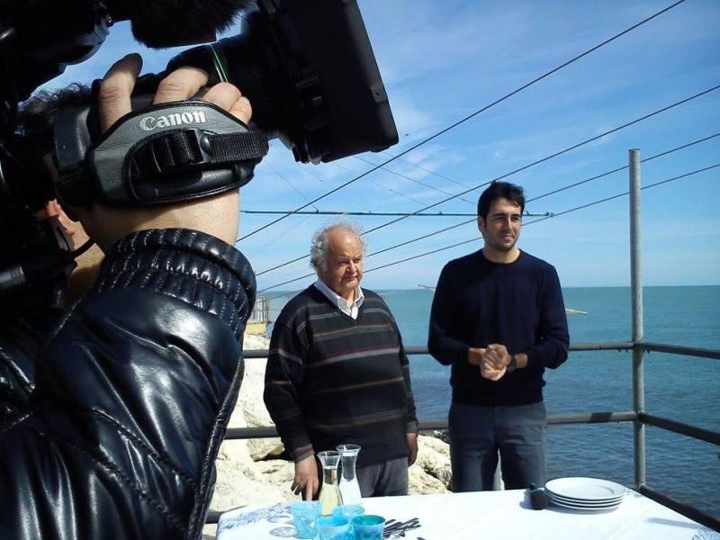 Le telecamere di Lineablu a Senigallia