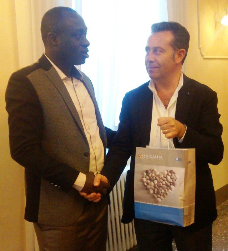 A Senigallia una delegazione senegalese di Pikine Est
