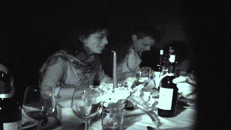Una cena al buio promossa dal Lions Club