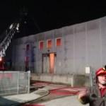Spento l'incendio nel deposito di Senigallia della So.di.co
