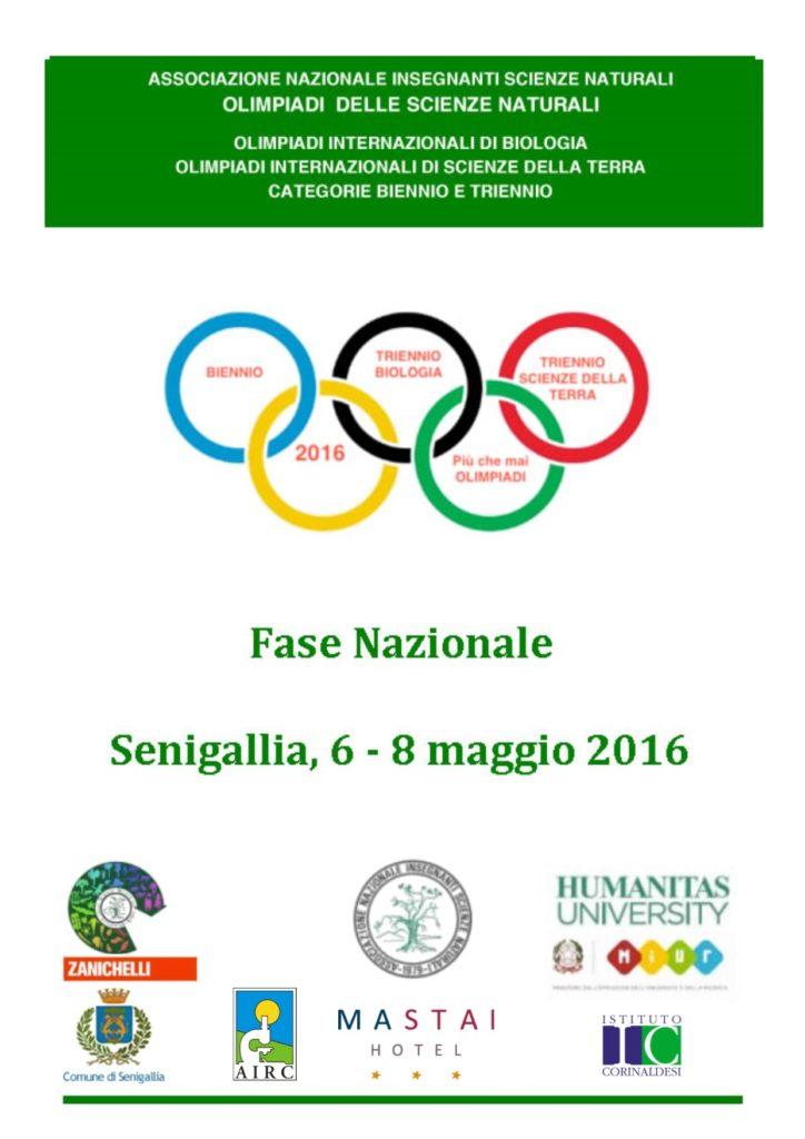 Ecco le Olimpiadi delle Scienze 2016