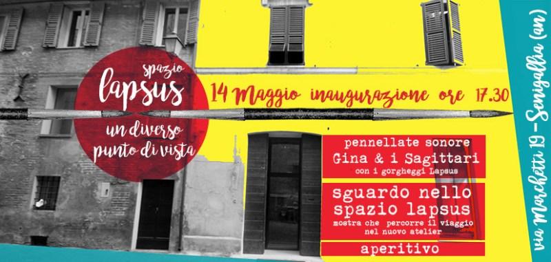 Apre a Senigallia l'atelier creativo dell'Associazione Lapsus