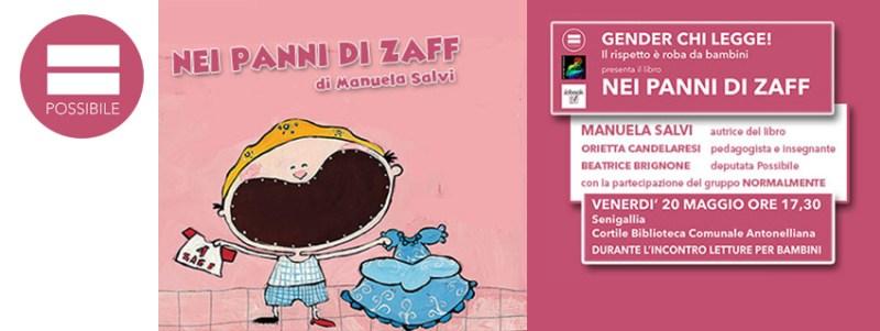 """Presentazione a Senigallia del libro """"Nei panni di Zaff"""""""