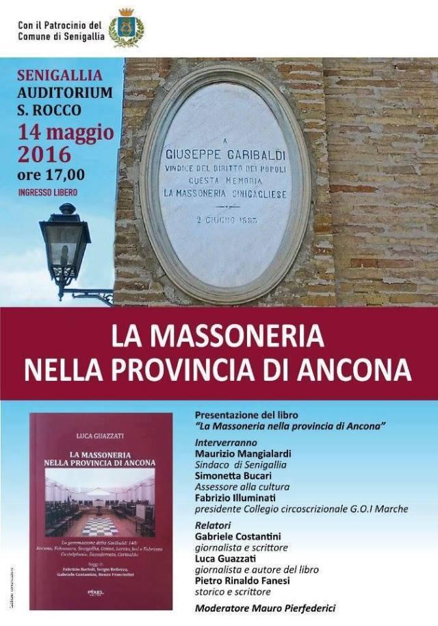 La Massoneria nella provincia di Ancona, se ne parla a Senigallia