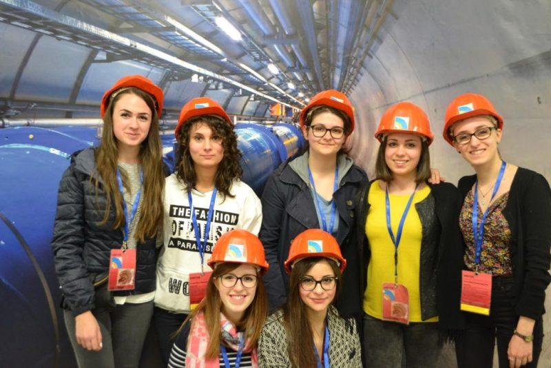 Gli studenti del Liceo Classico di Urbino in visita al Cern