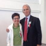 Il presidente del Coni Malagò ha premiato Sabrina Moretti