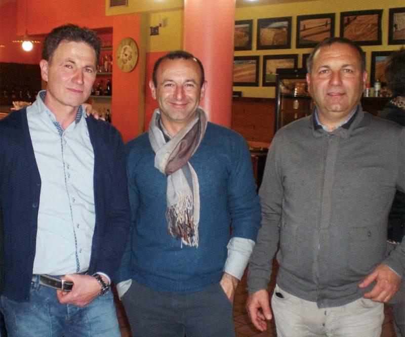 La Cantina Bruscia di San Costanzo a Londra con Sting e Bruno Vespa