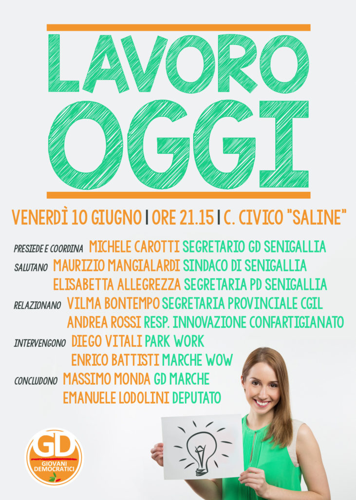 Disoccupazione sempre più alta, venerdì incontro a Senigallia