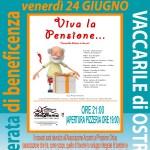 Viva la pensione, una commedia divertente a Vaccarile di Ostra