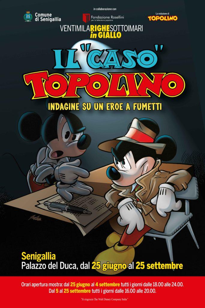 A Senigallia si indaga su Topolino, un eroe a fumetti
