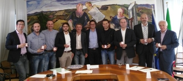 Il presidente della Provincia Tagliolini ha ricevuto i 9 nuovi sindaci eletti nel territorio provinciale
