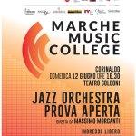 A Corinaldo il jazz a porte aperte con l'orchestra di Marche Music College