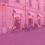 A Fano anche anche il Caffè Centrale si tinge di rosa