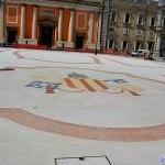 A Senigallia manifestazioni culturali per protestare contro gli stemmi in Piazza Garibaldi