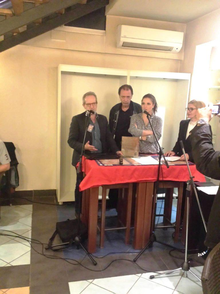 """Il poeta Paolo Maria Rocco vince il premio di """"Poeta laureato"""" al Festival internazionale di poesia di Zenica, in Bosnia Herzegovina"""