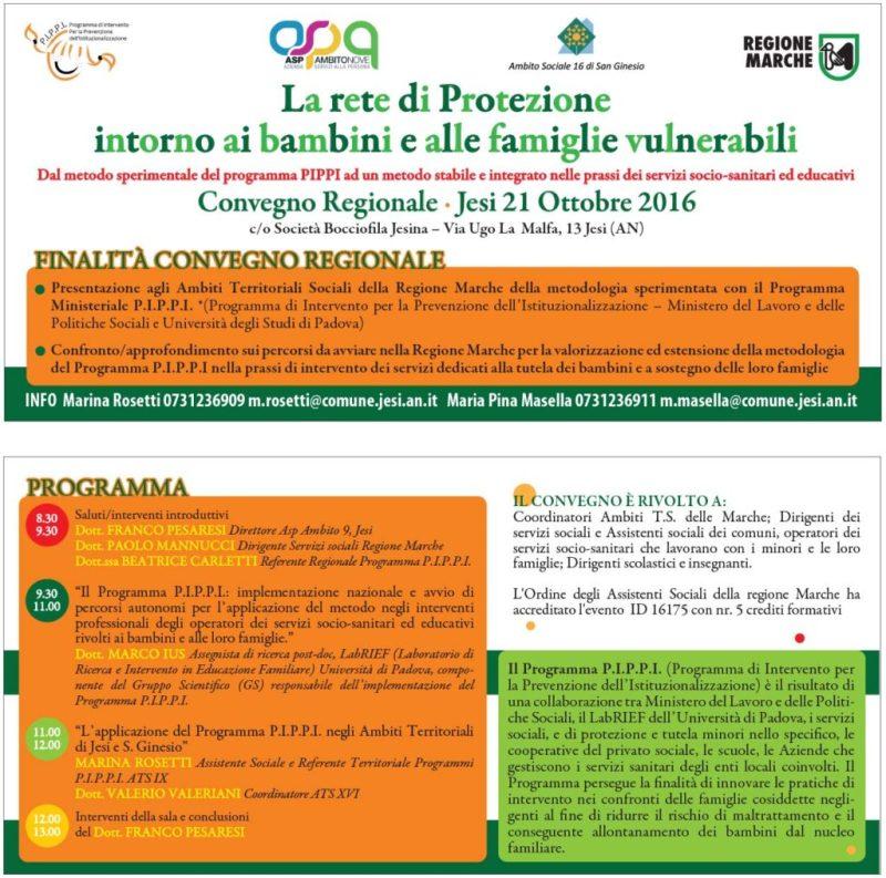 La rete di protezione intorno ai bambini e alle famiglie vulnerabili
