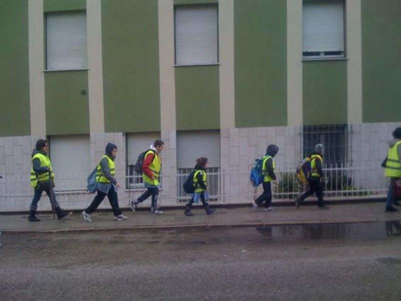 FALCONARA / Mercoledì riparte il Piedibus per la scuola