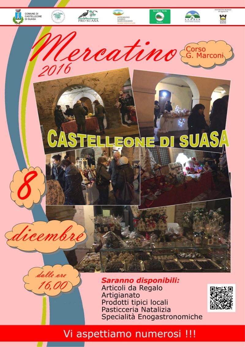 Castelleone di Suasa ospita un mercatino dei prodotti locali