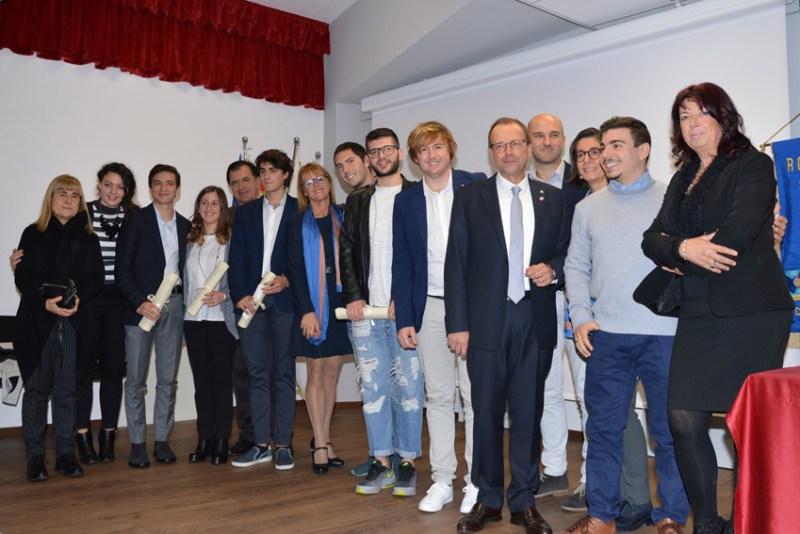 Alunno del Panzini premiato dal Rotary Club di Senigallia