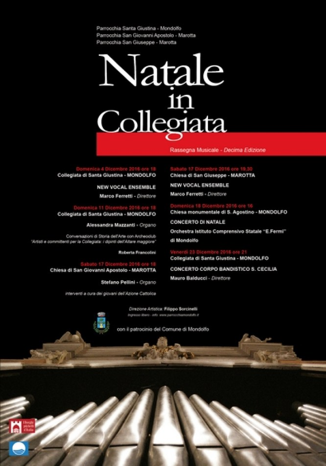 Sabato a Marotta il primo dei concerti natalizi del New Vocal Ensemble
