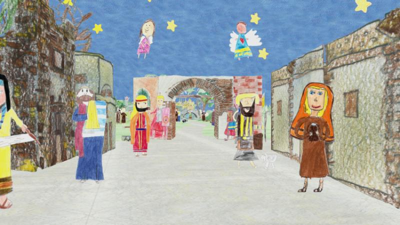 A Camerata Picena 300 bambini per un solo presepe