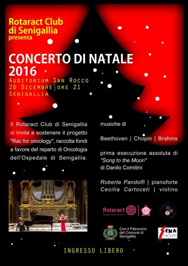 SENIGALLIA / All'Auditorium San Rocco il Concerto di Natale del Rotaract Club