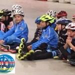 Ad Imola tutti sul podio i giovanissimi del Team Roller Senigallia