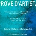 JESI / Prove d'artista, alla Galleria di Palazzo dei Convegni la mostra di Maurizio Fava