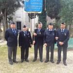 FALCONARA / Il Generale Amadio in visita al sindaco Brandoni