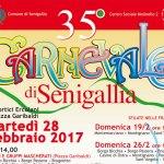 SENIGALLIA / Tutto pronto per la 35^ edizione del Carnevale cittadino