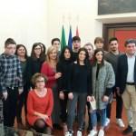 FANO / Premiati in Comune gli studenti della 5B dell'Istituto Olivetti