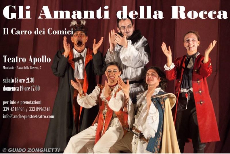 MONDAVIO / Al Teatro Apollo arriva la commedia dell'arte con Il Carro dei Comici