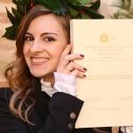 Il Premio Gino Giugni a Luana Balducci, laureata con lode all'Università di Urbino