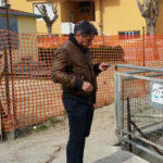 FANO / Sopralluogo del sindaco a Ponte Sasso lungo il Rio Crinaccio